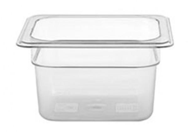GN-Behälter, GN 1/6 100 mm, transparent