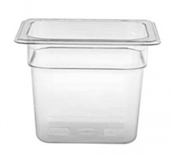 GN-Behälter, GN 1/6 150 mm, transparent