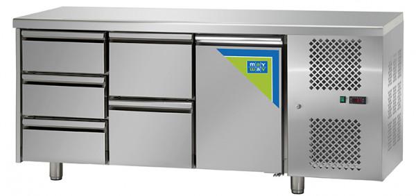 Kühltisch, KT 03 MID GN, 5L1T