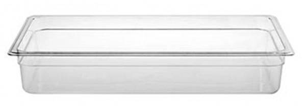 GN-Behälter, GN 1/1 100 mm, transparent