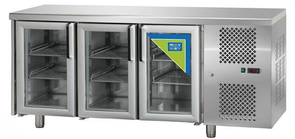 Kühltisch, KT 03 MID PV, 3T Glas