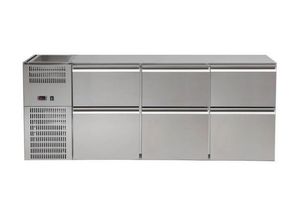 Kühlpult, Korpus 3 LI-FK-AG, REGS 306E