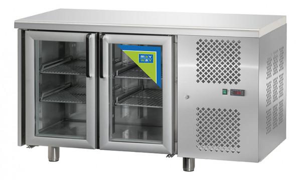Kühltisch, KT 02 MID PV, 2T Glas