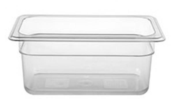 GN-Behälter, GN 1/4 100 mm, transparent