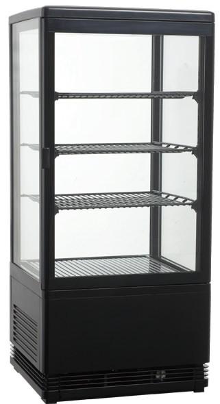 Kühlvitrine, M700, schwarz