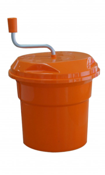 Salatschleuder, SALAD, orange