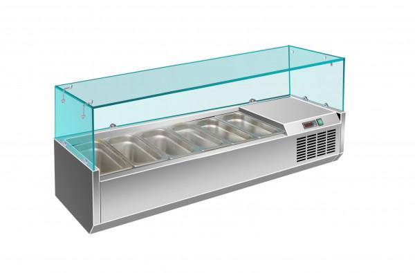 Aufsatzkühlvitrine, MX 1400/330
