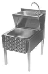 Handwasch-/Ausgussbeckenkombi, IP0040