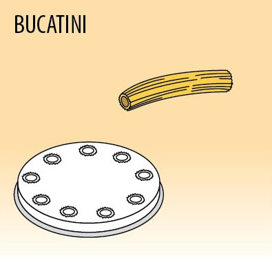 Nudelscheibe, BUCATINI 4 mm